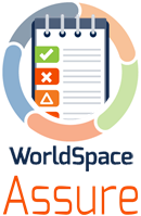 WorldSpace Assure logo