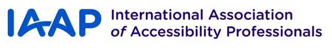 iaap accessibility international certification association web professionals professional classes aging place affiliations manitoba paced preparation self logos